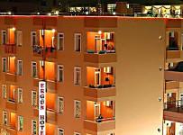 Pohled na hotel Ergun, Alanya