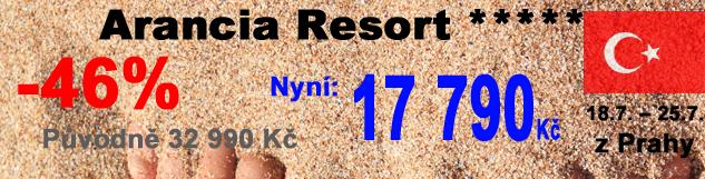 last: Arancia resort